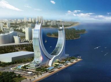 The Katara Towers at Lusail Credit Kling Consult