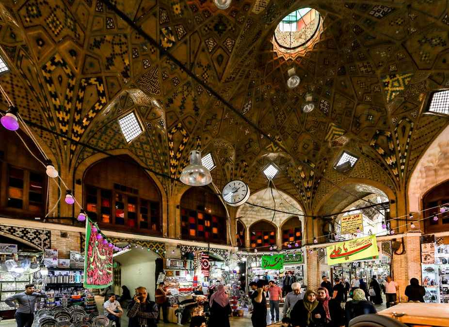 Grand Bazaar: once a hotbed of Iran's Revolution