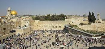 Klagemauer in Jerusalem. Laut palästinensischer Führung gab es hier nie einen jüdischen Tempel