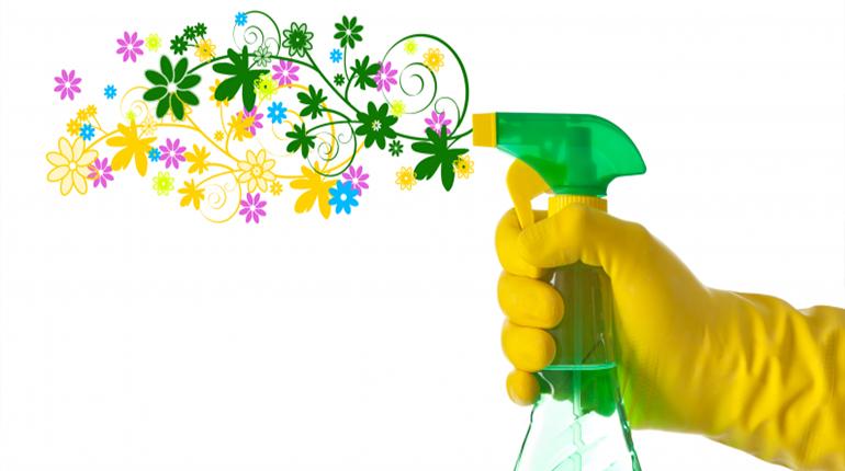 Le ménage de printemps pour tout nettoyer