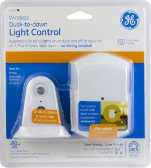 GE Wireless DusktoDawn Light Control at Menards®