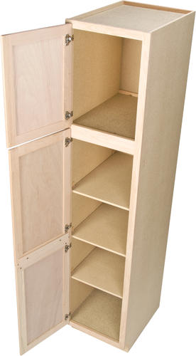 Quality One 18 Quot X 84 Quot Unfinished Oak Utility Cabinet At