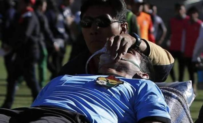 فيديو: وفاة حكم أثناء فيكتور هوغو هورتادو أثناء إدارته لمباراة في الدوري البوليفي الممتاز