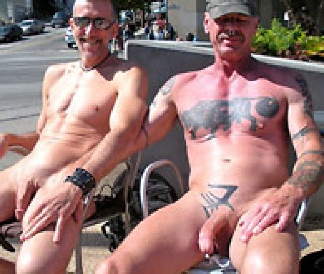 Older Men Nude Outdoor