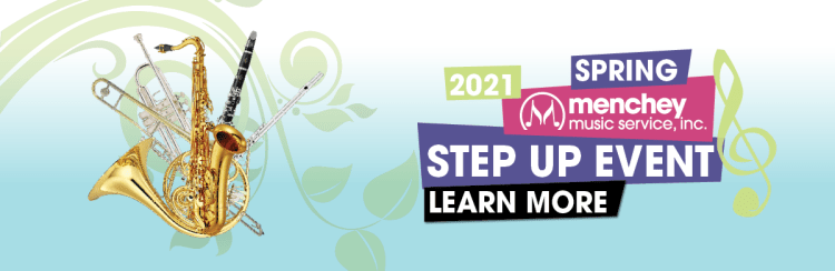 Spring Band Step Up Event During April and May 2021.
