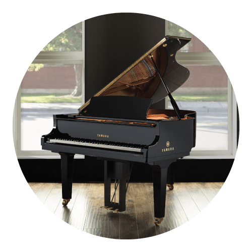 Disklavier Enspire ST in room with a window