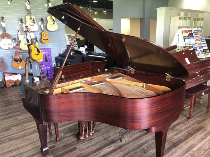 knabe grand piano from back