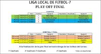 Photo of LOCAL    Horarios play off