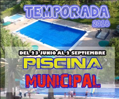 Temporada Piscina Municipal 2018