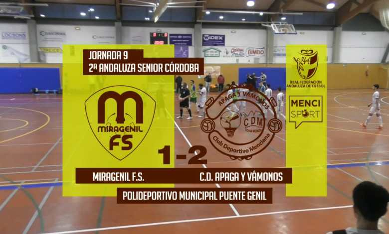 Photo of Mencisport TV | CD Miragenil 2-1 Apaga y Vámonos FS
