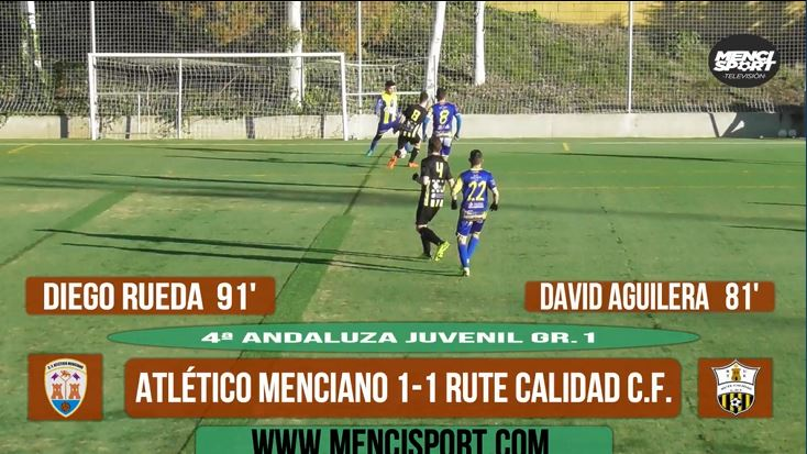 Photo of Mencisport TV | Atlético Menciano 1-1 Rute Calidad CF (4ª Andaluza  Juvenil Gr.1)