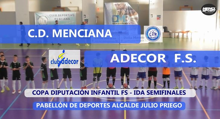 Photo of Mencisport TV | CD Menciana 3-7 Adecor FS | Ida Semifinales Copa Diputación Infantil