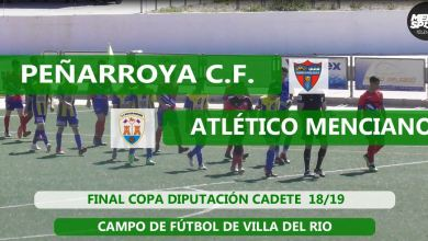 Photo of Mencisport TV | Peñarroya CF 2-1 Atlético Menciano | Final Copa Diputación Cadete