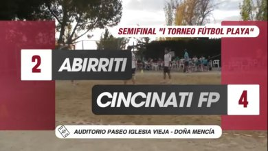 Photo of Mencisport TV| Abirriti 2-4 Cincinati FP (Semifinal «I Torneo Fútbol Playa Doña Mencía»