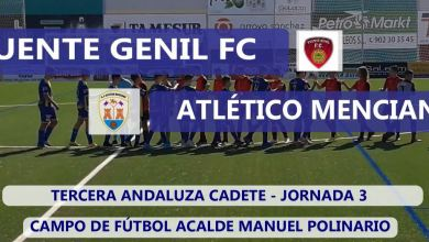 Photo of Mencisport TV | Salerm Puente  Genil 0-2 Atlético Menciano | 3ª Andaluza Cadete