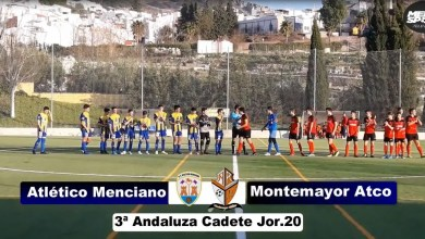 Photo of Mencisport TV | Atlético Menciano 10-0 Montemayor Atlético | 3ª Andaluza Cadete Jor.20