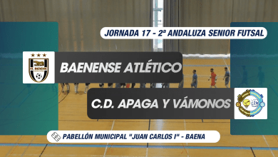 Photo of MENCISPORT TV | Baenense Atco. (7-2) Apaga y Vámonos (Jornada 17 | 2ª Andaluza Senior Futsal)