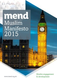 MEND Muslim Manifesto (General Election 2015)