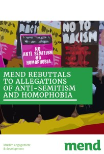 MEND rebuttals to allegations of antisemitism and homophobia 16.03.18