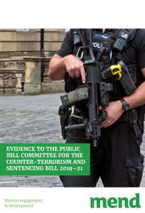Evidence to the Public Bill Committee for the Counter-Terrorism and Sentencing Bill 2019–21