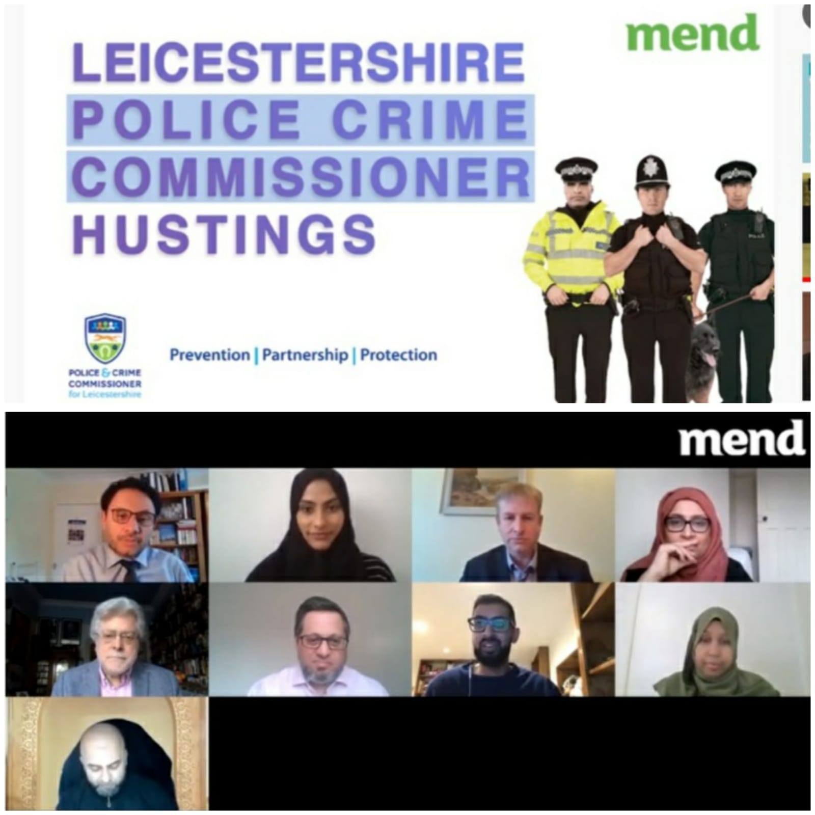 Leicestershire Police and Crime Commissioner Election Hustings 2021