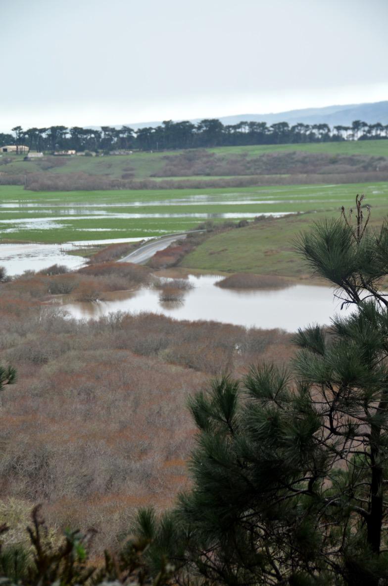 road closures, flooding, Garcia River
