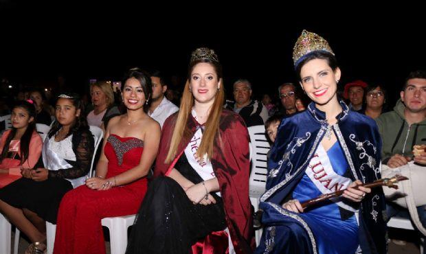 Katia Burgos es la nueva soberana de Cacheuta