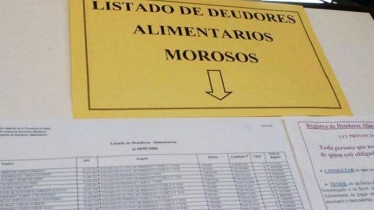 Medida contra deudores alimentarios en Luján