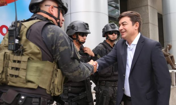 De Marchi ofreció un terreno de Luján para Gendarmería