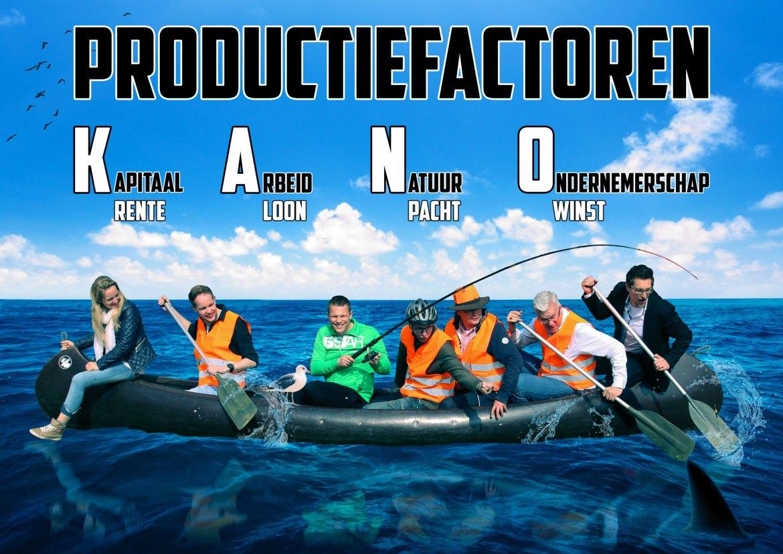 Productiefactoren poster KANO