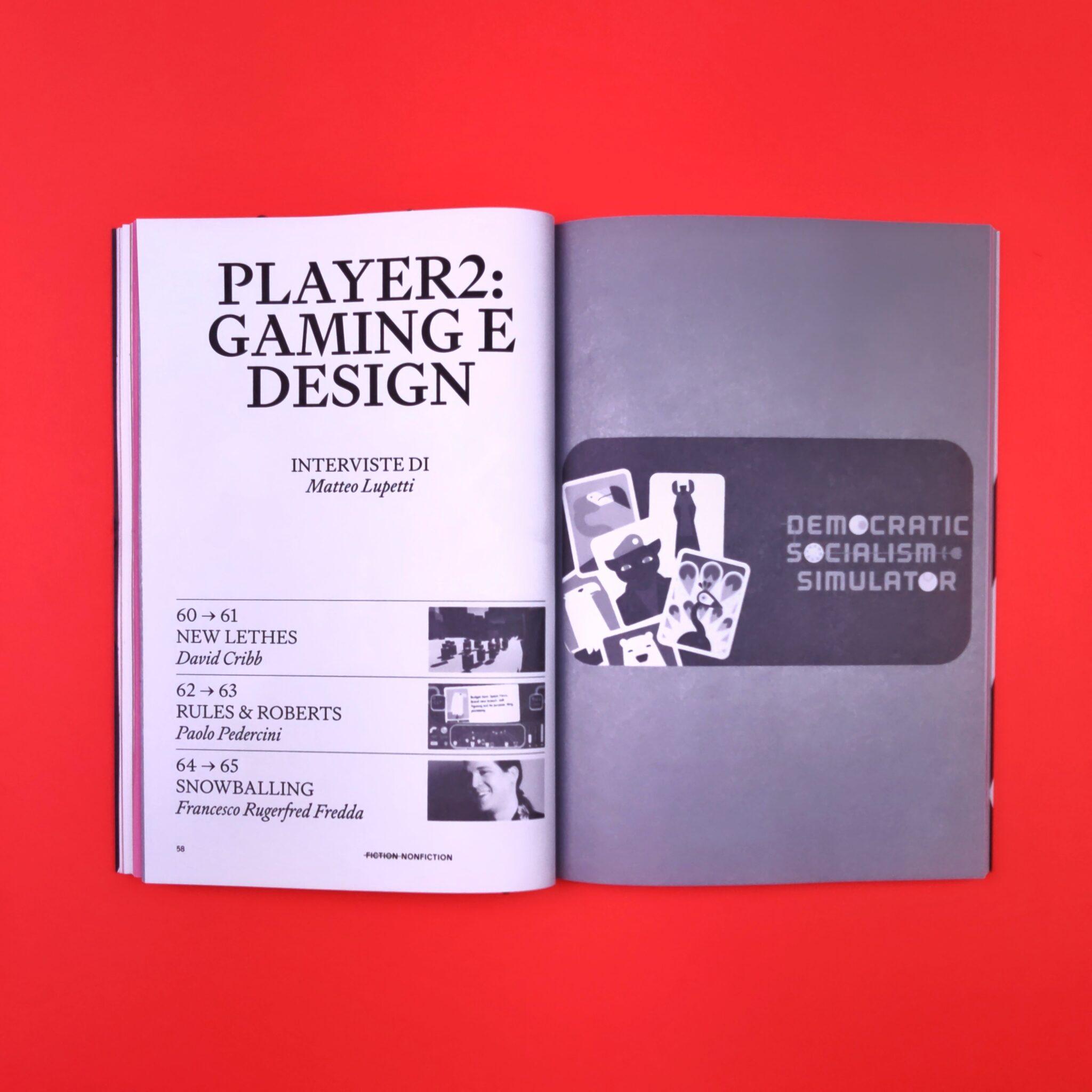 Player2: gaming e design