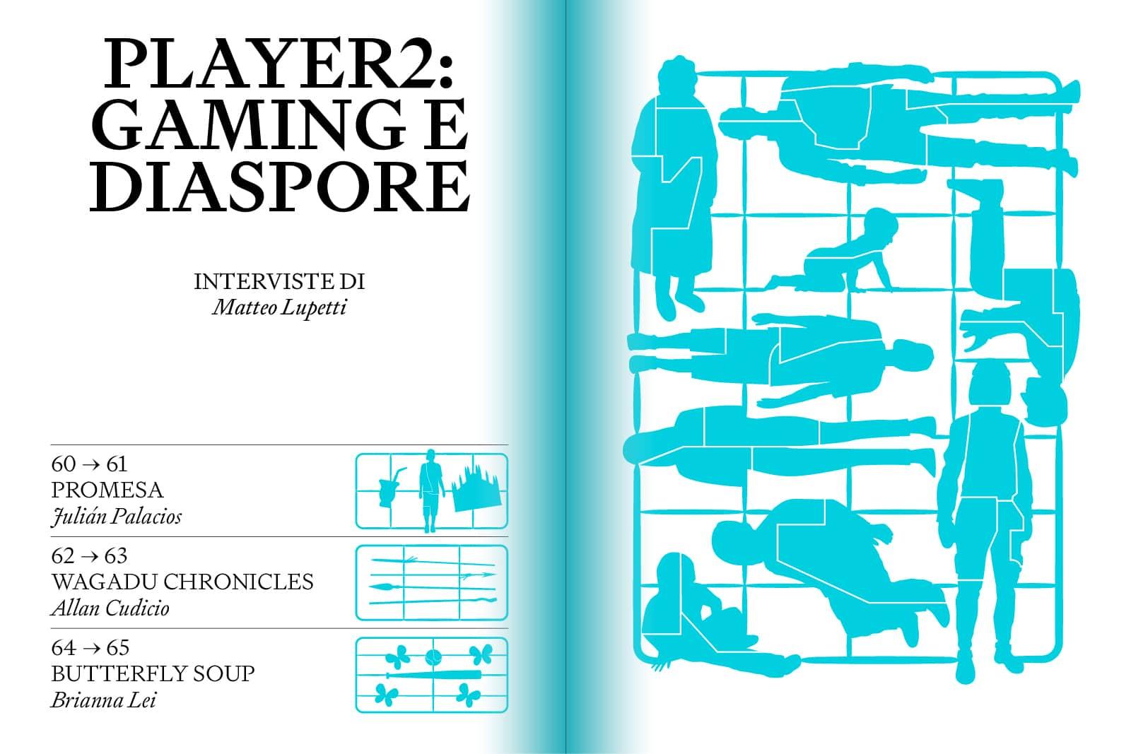 Player2: gaming e diaspora
