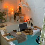 bathroom haven spa at home aromatherapy