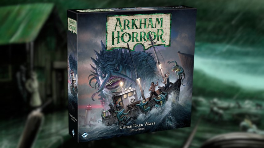 Annunciata Under Dark Waves, espansione di Arkham Horror 3° ed. | MENIAC!
