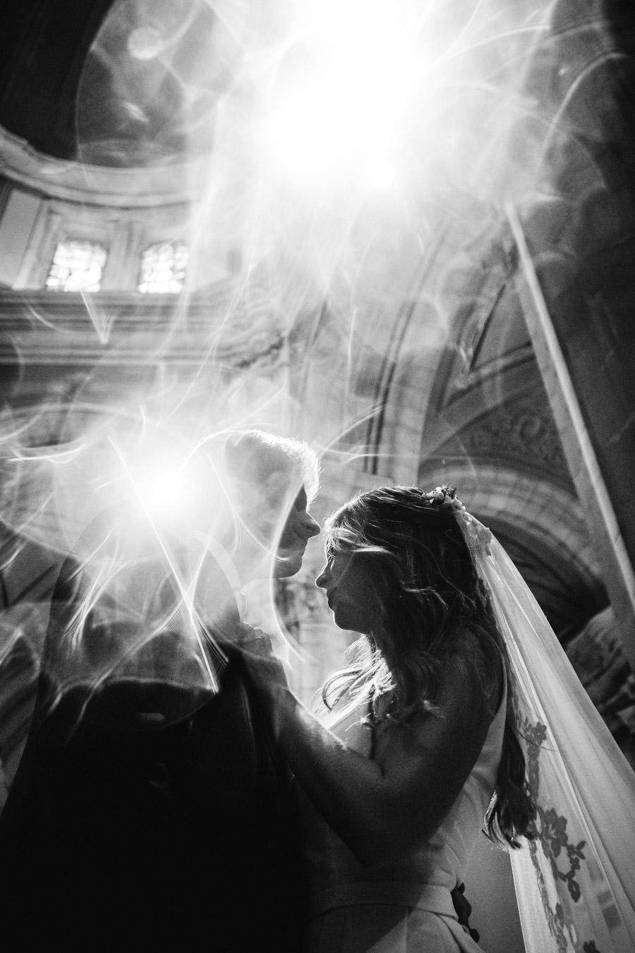 fotografia de casamento Sameiro Braga retrato dos noivos flare