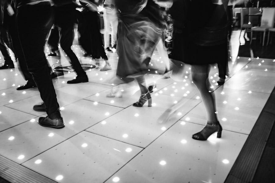 fotografia de casamento pista de danca arrastamento