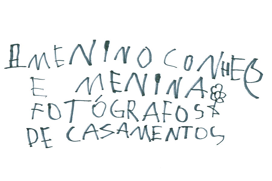 children hand writting drawing family wedding photography