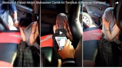 Viral Video Mesum Diduga Mahasiswi Unsri Dalam Mobil