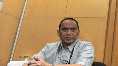 Indriyanto Seno Adji Teken Pakta Integritas Dewas KPK