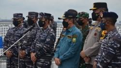 KRI Semarang-594 TNI AL Suskes Jalankan Misi Kemanusian di Riau
