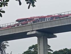 Kecelakaan LRT Jabodebek Terjadi Saat Uji Coba