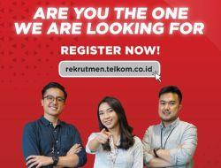 Lowongan Kerja Telkom Indonesia, Buruan Daftar Banyak Posisi