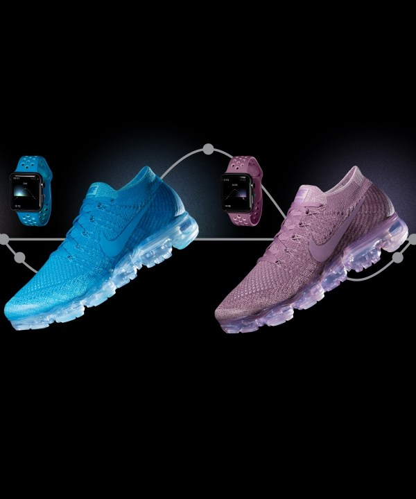 Nike Air VaporMax Flyknit x Apple Watch 完美登場
