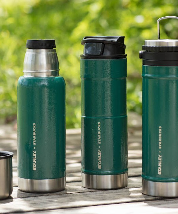 Stanley + Starbucks Stainless Steel Collection 已於全港登場