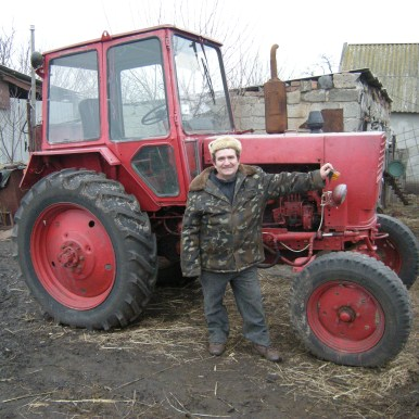 Farmer Grigorie's Tractor