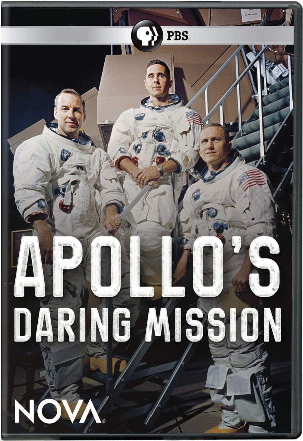 Apollo's Daring Mission dvd cover
