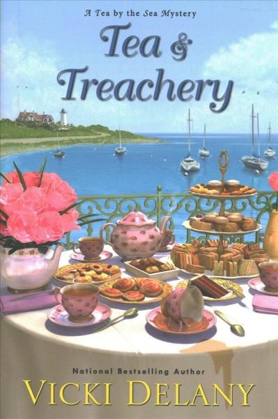 Tea and Treachery book cover