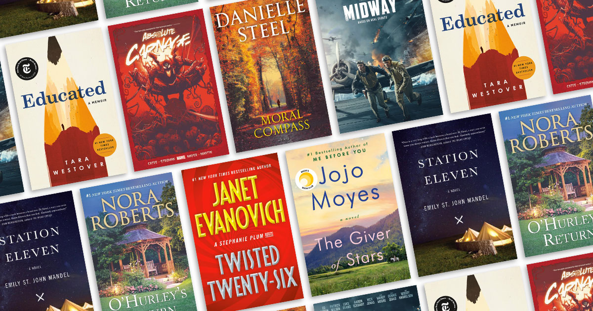 The most popular books of 2020