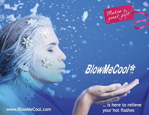 BlowMeCool Sign