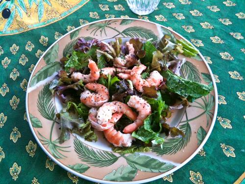 Ginger Mint Shrimp © lynette sheppard